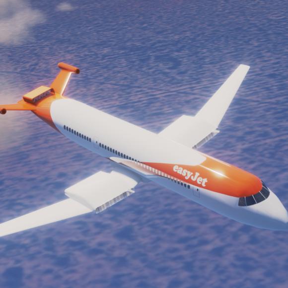 Un partenaire d'EasyJet développe un moteur pour un avion électrique de 186 places
