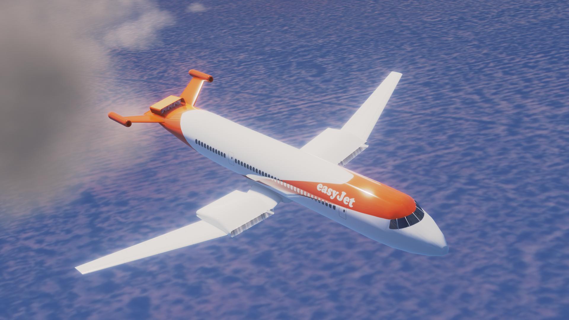 Un avion électrique Easy-Jet de 186 places pourrait voir le jour en 2023